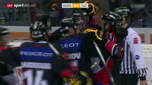 Video «Eishockey: Bern - ZSC Lions» abspielen