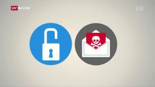 Video «FOKUS: Wie kommt es zu Cyber-Attacken?» abspielen