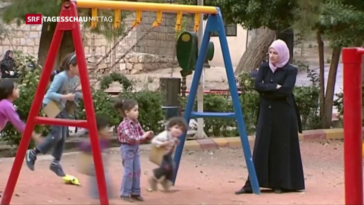 Fragile Waffenruhe in Syrien