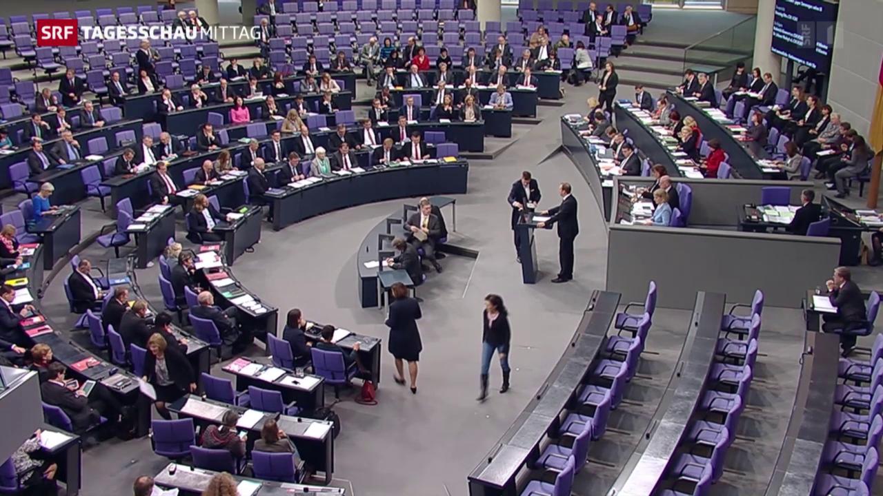 Die Debatte im deutschen Bundestag