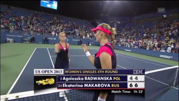 Video «Matchball Makarowa - Radwanska (unkommentiert)» abspielen