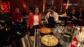 Video «Eve Angst kocht ihr Lieblingsessen: Jigae mit Kimchi» abspielen
