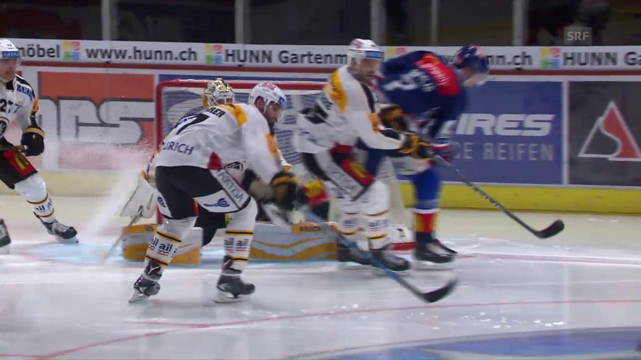 ZSC Lions legen im Klassiker gegen Lugano vor
