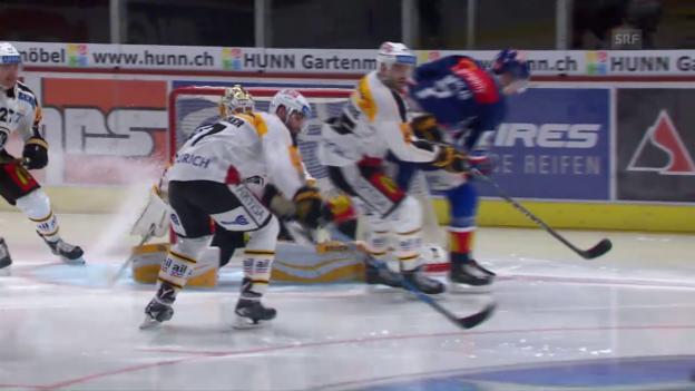 Video «ZSC Lions legen im Klassiker gegen Lugano vor» abspielen