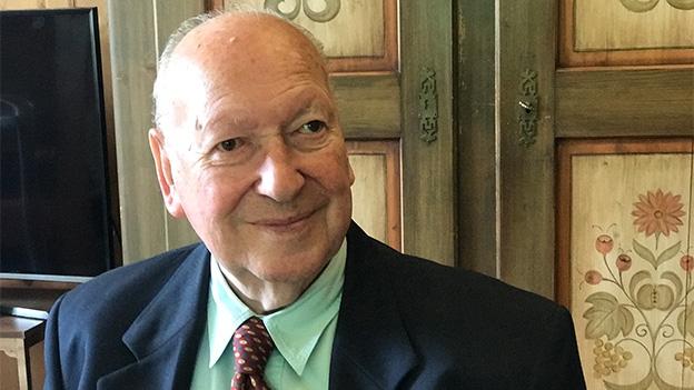 Alfred Scherrer erzählt ein paar Episoden aus seinem Leben