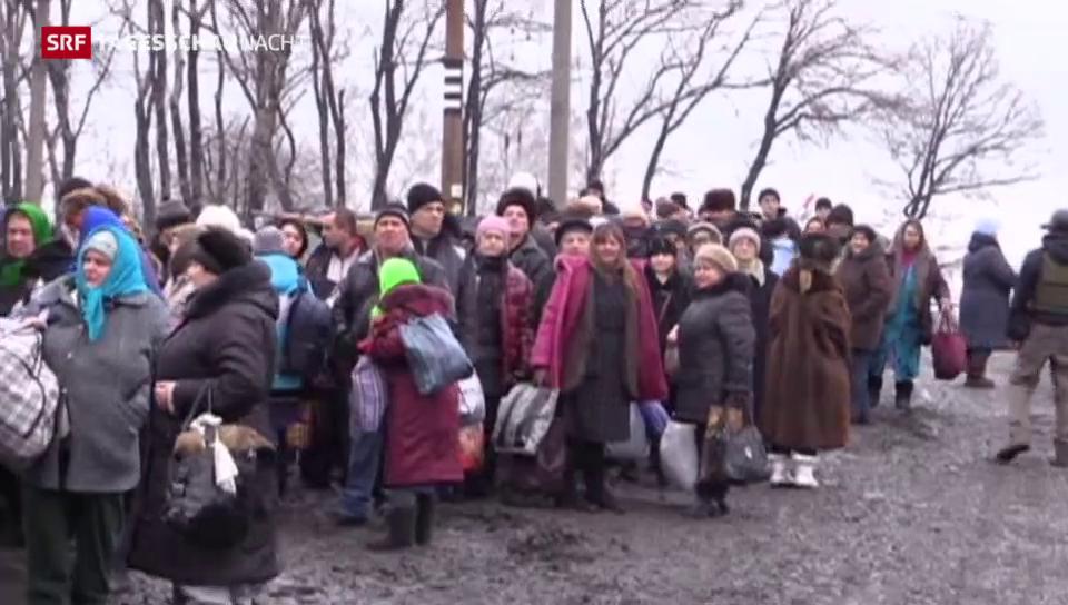 Ukraine: Kurze Verschnaufpause für eingekesselte Zivilisten