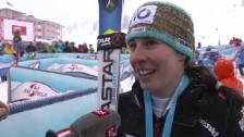 Video «Ski Alpin: Weltcup Kühtai, Riesenslalom Frauen, Interview Gisin» abspielen