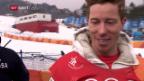 Video «White holt sich 3. Olympia-Gold» abspielen