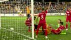 Video Das turbulente 2:2 der Young Boys in letzter Sekunde abspielen.