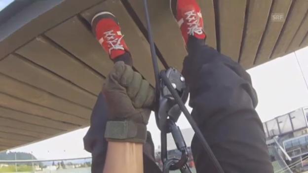Video «Die Bühne aus der Perspektive des Stuntman» abspielen