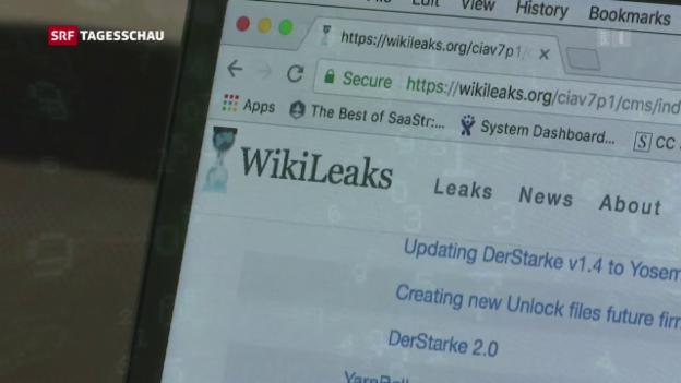 Video «Wikileak enthüllt CIA-Abhörtechnologie» abspielen