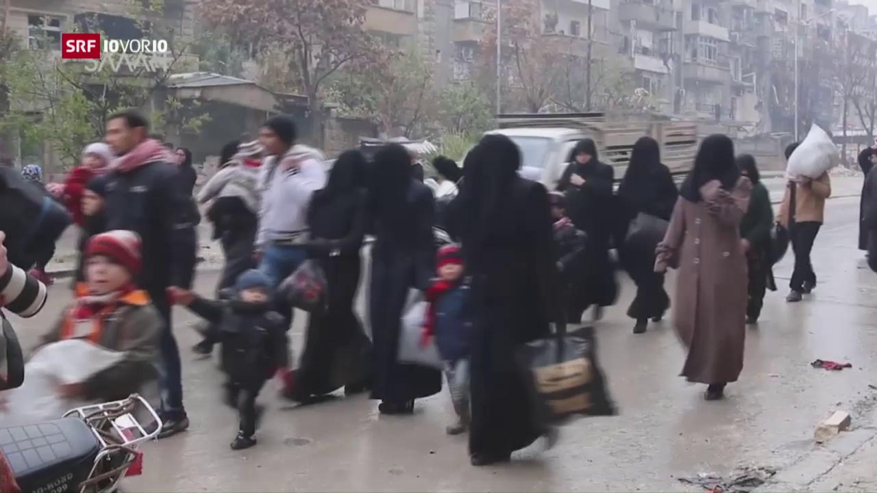 FOKUS: Waffenruhe in Aleppo scheitert