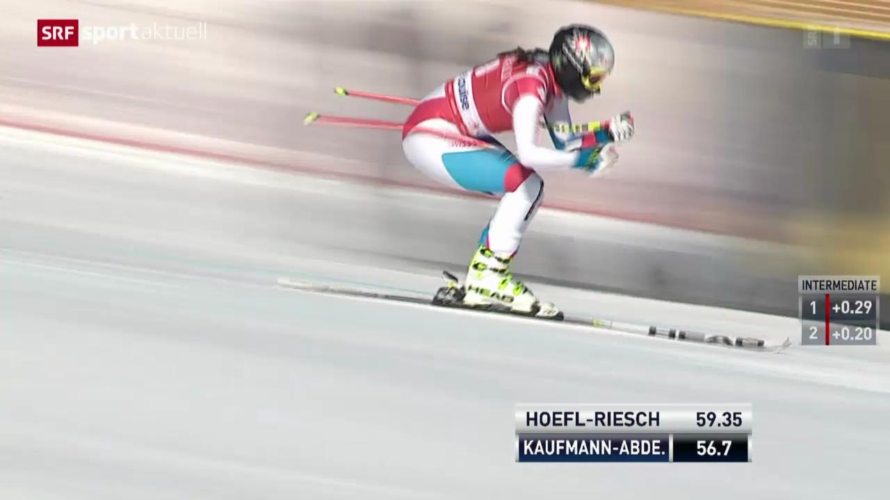 Ski: Die Karriere von Marianne Kaufmann-Abderhalden