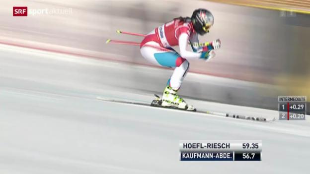 Video «Ski: Die Karriere von Marianne Kaufmann-Abderhalden» abspielen