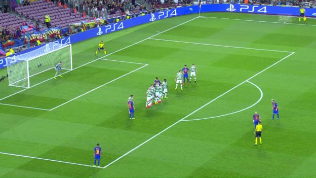 Video «Die Tor-Gala von Barcelona in 43 Sekunden» abspielen