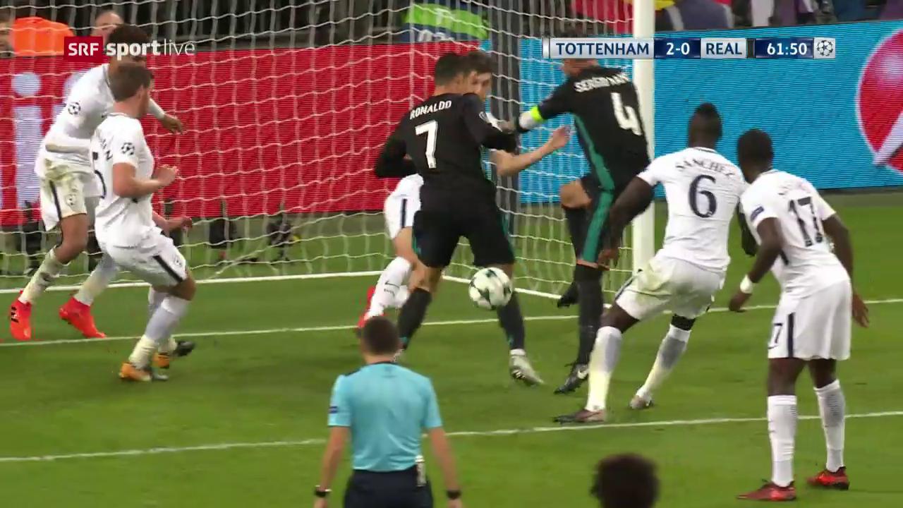 Wenn alles schief läuft: Ronaldo verhindert Ramos' Tor