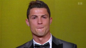 Video ««Ballon d'Or»: Die weltbesten Fussballer in Zürich» abspielen