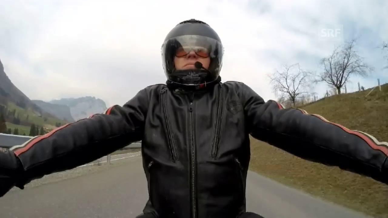 Bernhard Kallen, on the road