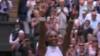 Video «Die Livehighlights bei Serena Williams - Angelique Kerber» abspielen