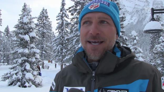 Video «Skli Alpin: Weltcup Lake Louise, Interview Stefan Abplanalp, Teil 2» abspielen