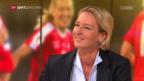Video «Voss-Tecklenburg über Fortschritte der Frauen-Nati» abspielen