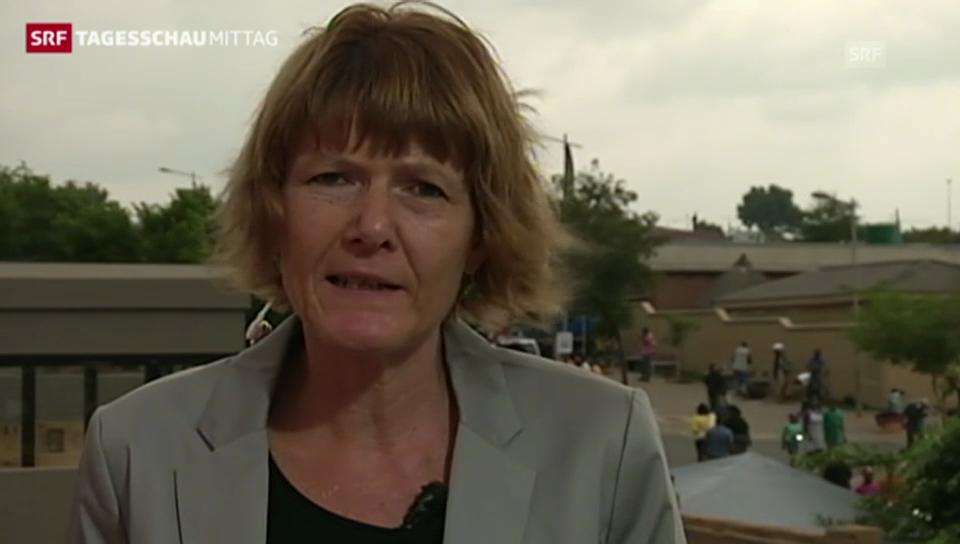 SRF-Korrespondentin Christina Karrer