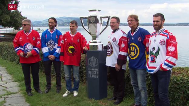 Video «Eishockey: Champions Hockey League» abspielen