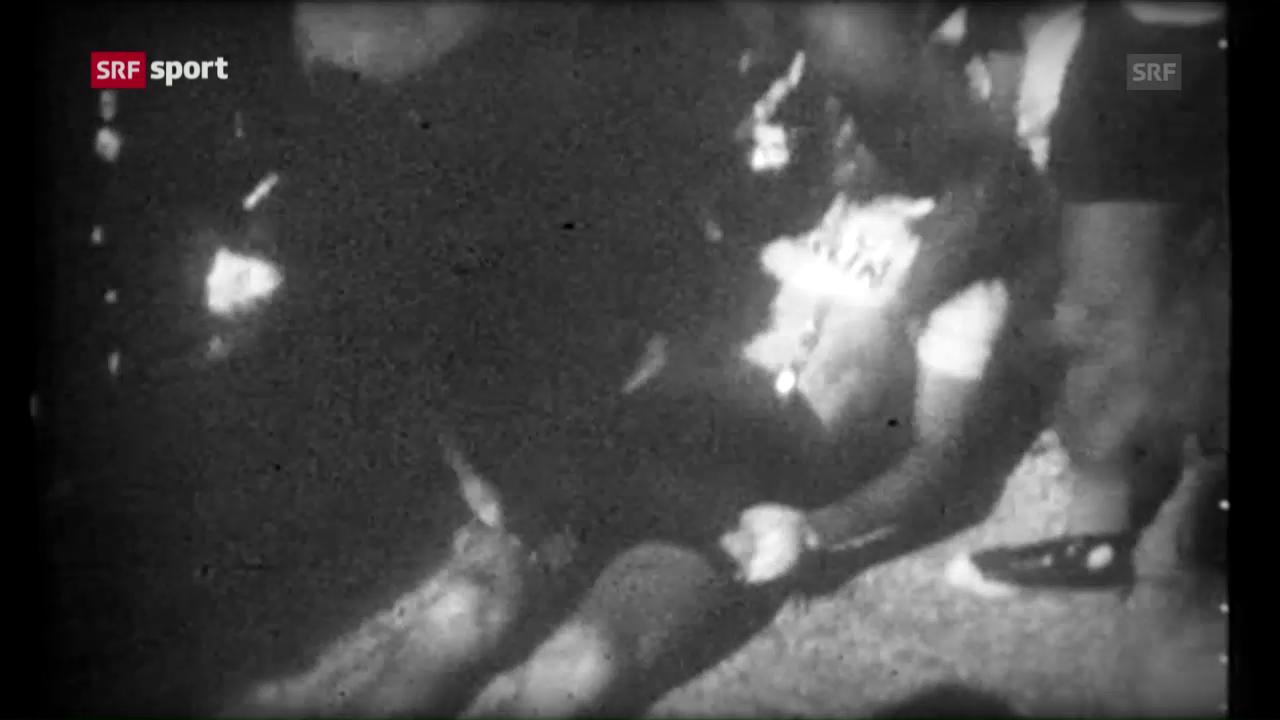 Simpson stirbt auf dem Mont Ventoux