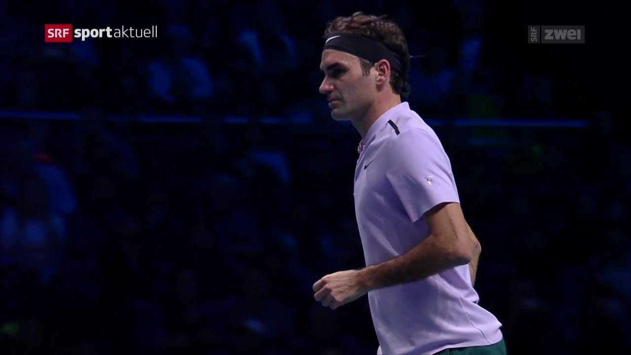 Für Federer ist die Saison nach der Niederlage gegen Goffin zu Ende