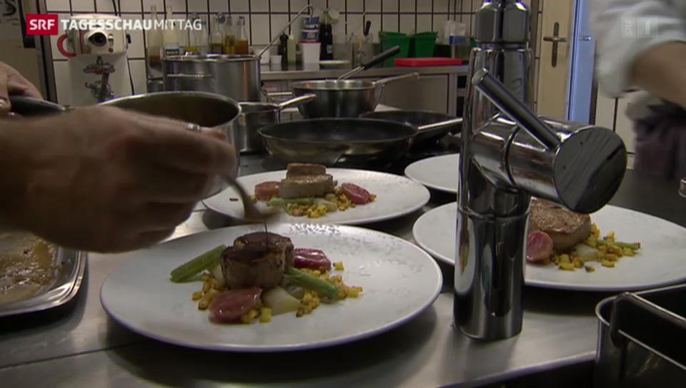 Schweizer Gastronomie hat zu kämpfen
