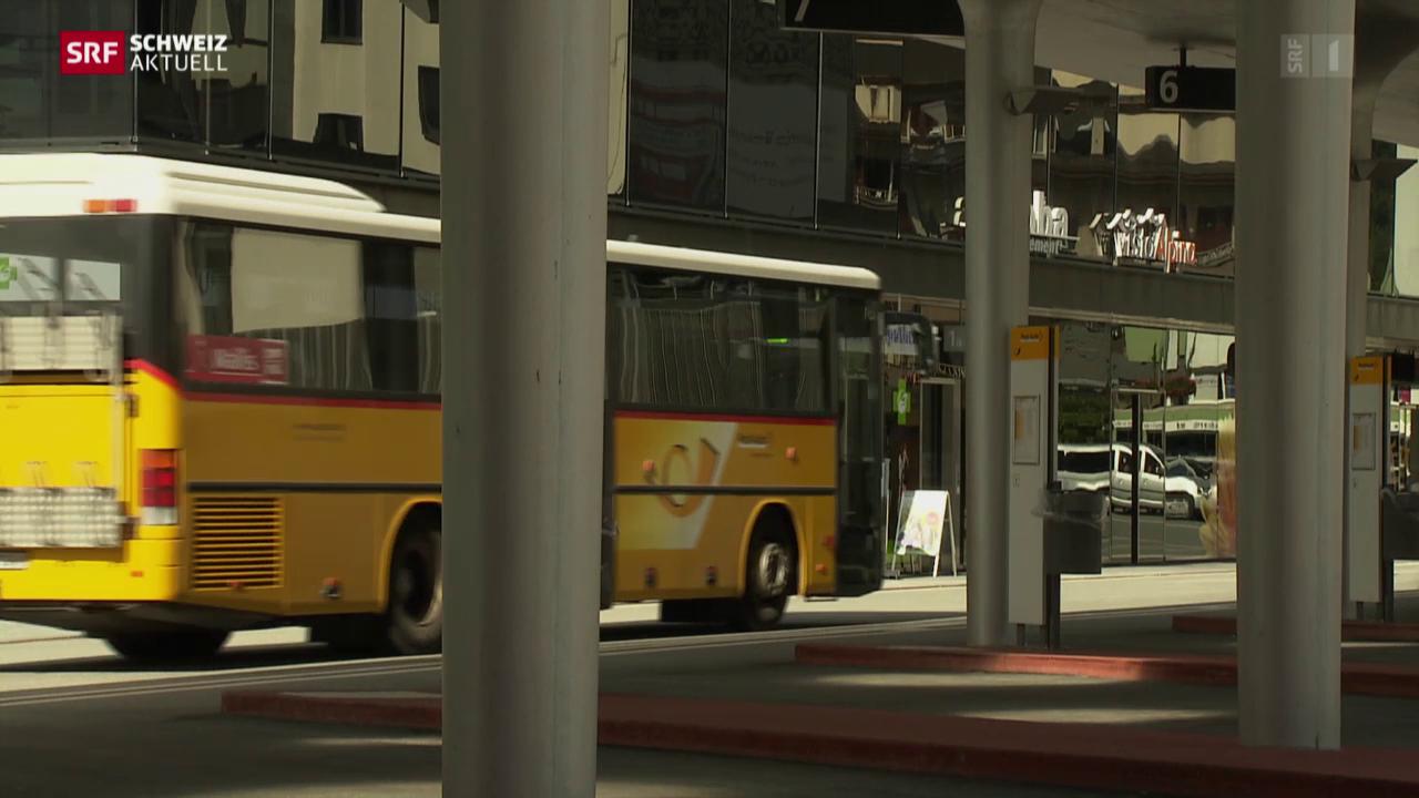 Mehr Öffentlicher Verkehr im Wallis