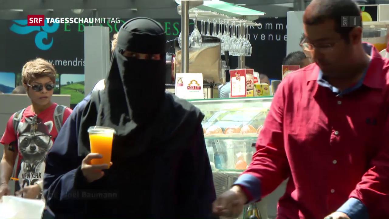 Burka-Verbot für Deutschland