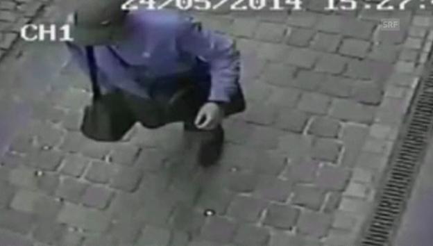 Video «Bilder einer Überwachungskamera (ohne Ton)» abspielen