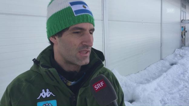 Video «Simari Birkner über die Motivation für den Weltcup (Engl.)» abspielen