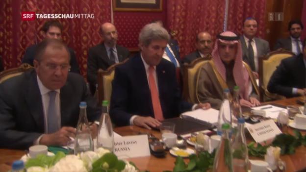 Video «Mageres Fazit an Syrienkonferenz» abspielen