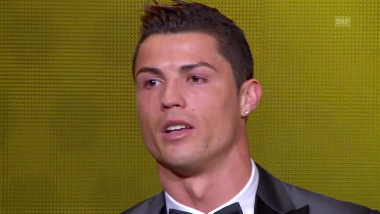 FIFA-Awards: Cristiano Ronaldo ausgezeichnet