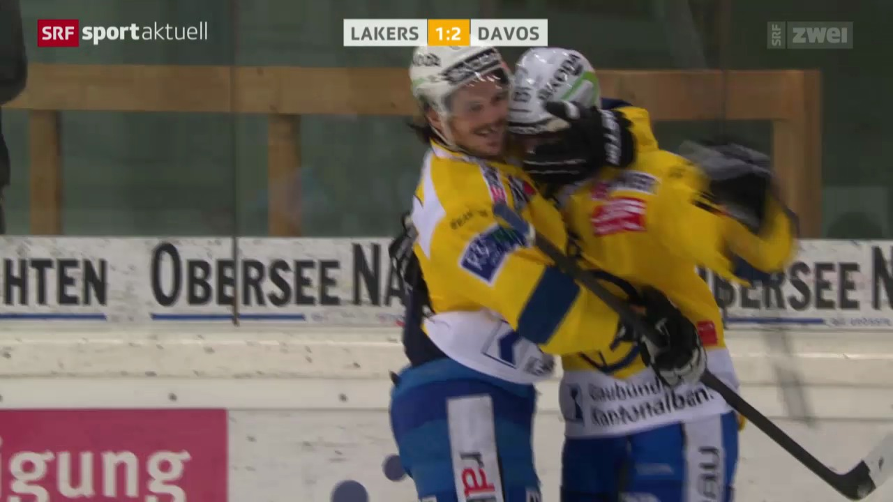 Eishockey: NLA, Rapperswil-Jona - HC Davos
