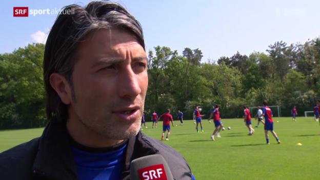 Video «Fussball: Super League, Vorschau Spitzenkampf Basel-GC» abspielen