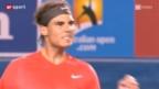 Video «Nadal im Achtelfinal von Melbourne» abspielen
