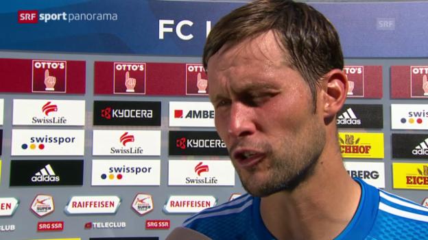 Video «Fussball: Stimmen zu Luzern - GC» abspielen