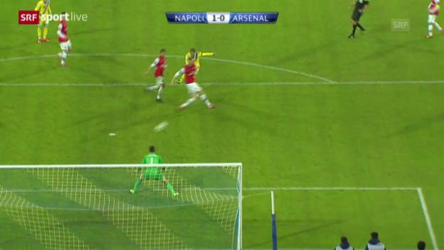 Video «Fussball: CL, Napoli - Arsenal («sportlive», 11.12.2013)» abspielen