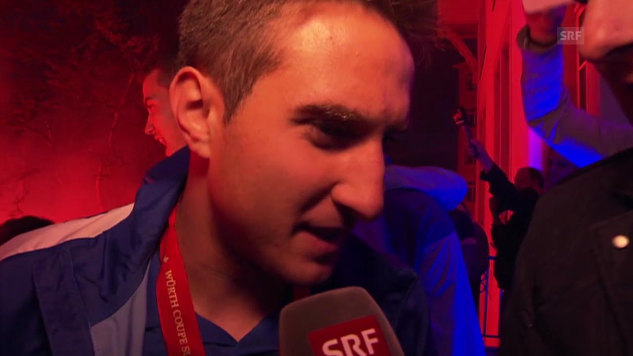 Fussball: Cupfeier FC Zürich, Interview mit Mario Gavranovic