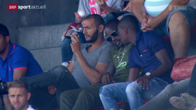 Video «Fussball: Yassine Chikhaoui verlässt den FCZ» abspielen