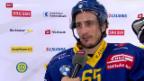 Video «Eishockey: Stimmen zu HCD - ZSC» abspielen