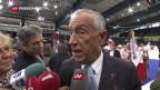 Video «Portugiesischer Präsident auf Besuch in der Schweiz» abspielen