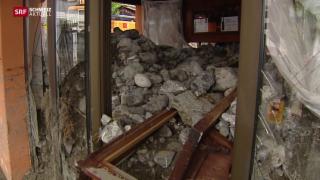 Video «Grosse Schäden im Wallis» abspielen