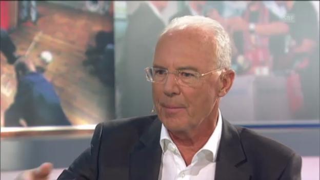 Video ««Vitaminspritzen» - Beckenbauer zum Thema Doping» abspielen