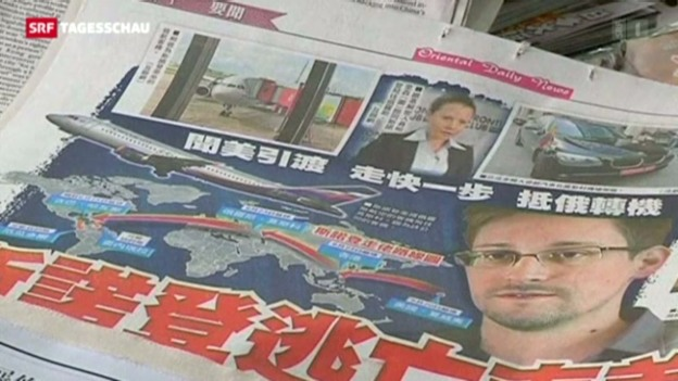 Video «Snowden provoziert diplomatischen Machtkampf» abspielen