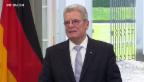 Video «Gauck besucht die Schweiz» abspielen
