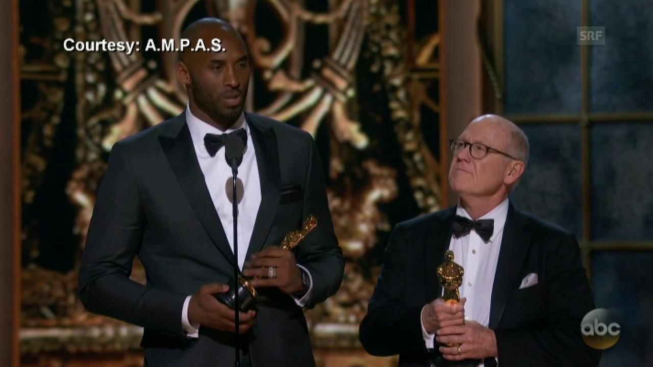 Kobe Bryant gewinnt Oscar